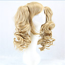 cheap USB Flash Drives-Synthetic Wig / Cosplay & Costume Wigs Curly Blonde With Ponytail Synthetic Hair Blonde Wig Women's Capless