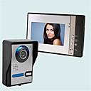 tanie Videofony-Bezprzewodowy Wielorodzinna dzwonek video 7 in Ręczne 30 Pixel One to Four więcej video domofon