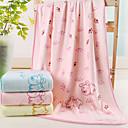 זול מגבות מקלחת-מגבת אמבטיה לבן,ג'קארד איכות גבוהה אורגני מַגֶבֶת