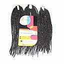 preiswerte Haarzöpfe-Geflochtenes Haar Senegal Twist Braids / Echthaar Haarverlängerungen 100% kanekalon haare Haar Borten Alltag
