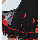 tanie Modele i zestawy modeli-Taniec balowy Doły Damskie Szkolenie Tiul Cekiny Bez rękawów Naturalny Spódnica