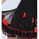 cheap Men's Watches-Ballroom Dance Bottoms Women's Training Tulle Paillette Sleeveless Natural Skirt