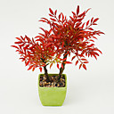 رخيصةأون فرش كريم الأساس-زهور اصطناعية 1 فرع الحديث نباتات أزهار الطاولة