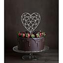 preiswerte Tortenfiguren & Dekoration-Tortenfiguren & Dekoration Klassisch Monogramm Acryl Hochzeit mit Blume 1 Geschenkbox