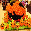 billige Halloween Fest Forsyninger-5pcs halloween ballon ballon dekoration 12 tommer ringere glat tyk aktiviteter farvemønster er tilfældigt