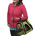abordables Básicos de Viaje para Perros-Gato / Perro Transportines y Mochilas de Viaje / Bolsa de hombro Mascotas Portadores Portátil / Transpirable Un Color Verde / Azul / Rosa