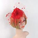 cheap Party Headpieces-Feather Net Fascinators Headpiece Elegant Classical Feminine Style