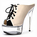 cheap Wall Stickers-Fashion Week Women's Heels / Peep Toe / Platform / Sandals Patent  Strappy / Leather Party & Evening / Casual Stiletto