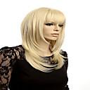 abordables Perruques de Cosplay de jeux vidéos-Perruque Synthétique / Perruques de Déguisement Droit / Droit crépu Style Sans bonnet Perruque Blond Blonde Cheveux Synthétiques Blond Perruque Perruque de Cosplay