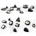 hesapli Tırnak Takısı-10 pcs Nail Jewelry Tırnak Tasarımı Tasarımı pırıltılar / Moda Günlük