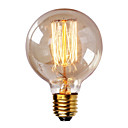 cheap Girls' Clothing Sets-1pc 40W E26 / E27 G80 Warm White 2300k Retro Dimmable Decorative Incandescent Vintage Edison Light Bulb 220-240V