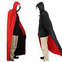 cheap Halloween Party Supplies-Halloween Clothing  Masquerade Costumes A God Of Death Cloak Vampire Red And Black Double-sided Cloak 150cm