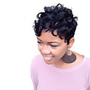 cheap Human Hair Wigs-natural wavy short human hair wigs for black woman