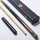 abordables Billares-Tres cuartos de dos piezas Cue Sticks & Accesorios Cue Snooker / Inglés Billar Madera 1.45 m