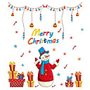 cheap Christmas Decorations-Animals People Christmas Decorations Wall Stickers Plane Wall Stickers Decorative Wall Stickers Home Decoration Wall Decal Wall
