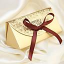 tanie Pudełka na upominki-twórczy papierowy bibelot z kartkami z życzeniami - 12 ślubnych przysług