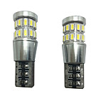 cheap Car Light Accessories-2pcs Car Light Bulbs SMD 4014 LED Decorative Lamp / License Plate Light / Reading Light