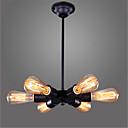 billige Hodeplagg til fest-6-Light Anheng Lys Omgivelseslys Malte Finishes Metall Mini Stil, LED, designere 110-120V / 220-240V Pære Inkludert / E26 / E27