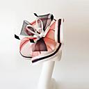 billige Festhovedtøj-hørfjær fascinatorer hovedstykke elegant klassisk feminin stil