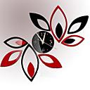 billige Gør Det Selv Vægure-Moderne / Nutidig / Kontor / Bedrift Huse / Familie / Skole/Studentereksamen / Venner Wall Clock,Nyhet Glass / Plastikk 60CM/23.6inch