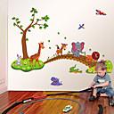 billige Vægklistermærker-Dekorative Mur Klistermærker - Fly vægklistermærker Dyr / Mode / Tegneserie Stue / Soveværelse / Læseværelse / Kontor / Kan fjernes