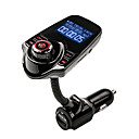 cheap Bluetooth Car Kit/Hands-free-AGETUNR FM Transmitter Bluetooth Handsfree Car Kit MP3 Music Player Radio Adapter with Remote Control For iPhone /Samsung LG Smartphone