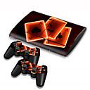 preiswerte PS3 Zubehör-B-SKIN B-SKIN USB Aufkleber Für Sony PS3 . Neuartige Aufkleber Vinyl 1 pcs Einheit