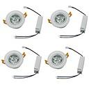 baratos Luzes de Teto de LED-YouOKLight 450lm 3 LEDs Decorativa Downlight de LED Branco Quente Branco Frio AC 100-240V
