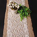 cheap Table Cloths-Rectangular Embroidered Table Runner , Linen / Rayon Material Wedding Party Decoration Weddings