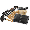 preiswerte Make-up-Pinsel-Sets-32pcs Makeup Bürsten Professional Make - Up Pinselset Ziegenhaarbürste Tragbar / Professionell Holz