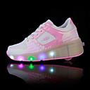 abordables Zapatos de Niña-Chica Zapatos PU Primavera / Verano / Otoño Confort / Zapatos con luz Zapatillas de Atletismo Tacón Cuña Dedo redondo Con Cordón / LED