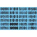 billige Negle Sticker-12 designs ,12 different images Vandoverførings klistermærke Negle kunst Manicure Pedicure Mode Daglig