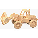 baratos Quebra-Cabeças 3D-Quebra-Cabeças de Madeira Empilhadeira Nível Profissional De madeira 1pcs Crianças Para Meninos Dom