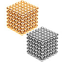 cheap Magnet Toys-2*216 pcs 3mm Magnet Toy Magnetic Balls Building Blocks Puzzle Cube Metalic Contemporary Classic & Timeless Chic & Modern Stress and Anxiety Relief Office Desk Toys Relieves ADD, ADHD, Anxiety, Autism