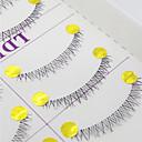 baratos Quebra-Cabeças 3D-Cílios Cílios / Cílios Postiços 20 pcs Olhos Volumizado / Encaracolado / Extra Longo 0.1 mm Cílios Inferiores / Cruzado Fibra Transparent Band