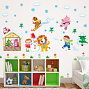 cheap Christmas Decorations-Animals Still Life Botanical Wall Stickers Plane Wall Stickers 3D Wall Stickers Decorative Wall Stickers Fridge Stickers Home Decoration