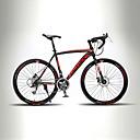 baratos Bicicletas-Bicicletas de estrada Ciclismo 21 velocidade 26 polegadas / 700CC TX30 BB8 Freio a Disco Duplo Sem Amortecedor Manocoque / Garfo Rígido Traseiro Comum / liga de alumínio Carbono / Liga de alumínio