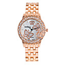 cheap Fashion Watches-Women's Wrist Watch Large Dial / Punk / Cool Alloy Band Charm / Sparkle / Vintage Silver / Gold / Rose Gold