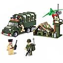 baratos Blocos de Montar-Blocos de Construir Blocos Militares Conjunto de construção de brinquedos Soldier compatível Legoing Novidades Para Meninos Para Meninas Brinquedos Dom / Brinquedo Educativo
