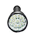 baratos Calçados & Acessórios-Lanternas LED LED 3800lm 5 Modo Iluminação Regulável / Impermeável / Alta Intensidade Campismo / Escursão / Espeleologismo / Uso Diário /