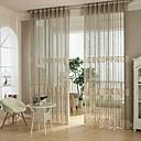 preiswerte Gardinen-Ösen Ein Panel Window Treatment Europäisch, Hohl-Gravur Schlafzimmer Polyester Stoff Gardinen Shades Haus Dekoration