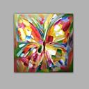 olcso Köszönetajándék tartók-Hang festett olajfestmény Kézzel festett - Pop-művészet Klasszikus / Modern Tartalmazza belső keret / Nyújtott vászon