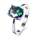 cheap Rings-Women's Cubic Zirconia Ring - Zircon Fashion 6 / 7 / 8 Assorted Color For Wedding / Party / Daily