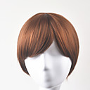cheap Synthetic Extensions-Synthetic Wig Straight Bob Haircut Synthetic Hair Brown Wig Women's Short Capless