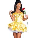preiswerte Kostüme für Erwachsene-Prinzessin / Märchen / Göttin Cosplay Kostüme / Party Kostüme / Maskerade Damen Halloween / Karneval Fest / Feiertage Halloween Kostüme Gelb Patchwork