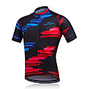 cheap Cycling Jerseys-Fastcute Men's Short Sleeve Cycling Jersey Cycling Jacket Bike Jersey Breathable Quick Dry Sweat-wicking Sports Polyester Mountain Bike MTB Road Bike Cycling Clothing Apparel / Stretchy / Advanced