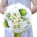 """baratos Presentes de Casamento-Bouquets de Noiva Buquês Casamento Festa / Noite Flôr Seca Poliéster Cetim 11.8""""(Aprox.30cm)"""