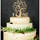 tanie Zaproszenia ślubne-Figurki na tort Motyw Garden / Azjatyckie motywy / Motyw kwiatowy Klasyczna para / Kiery Akrylowy Ślub / Rocznica / Przyjęcie przedślubne z 1 pcs Torba prezentowa