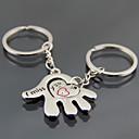 זול מזכרות מחזיקי מפתחות-נושא חוף נושאי גן נושא קלאסי נושא אגדות מצדדים במחזיק מפתחות פלדת על חלד מחזיקי מפתחות - 2