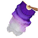 cheap Dance Accessories-Belly Dance Stage Props Women's Performance Silk Ruched Wand